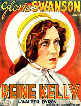 Queen Kelly - 11 x 17 Movie Poster - French Style A
