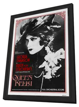Queen Kelly - 11 x 17 Movie Poster - Style A - in Deluxe Wood Frame