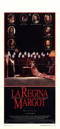 Queen Margot - 13 x 28 Movie Poster - Italian Style A