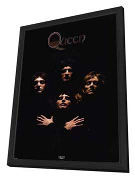 Queen - 27 x 40 Movie Poster - Style A - in Deluxe Wood Frame