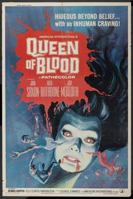 Queen of Blood - 11 x 17 Movie Poster - Style B