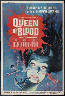 Queen of Blood - 27 x 40 Movie Poster - Style B