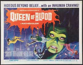 Queen of Blood - 22 x 28 Movie Poster - Half Sheet Style A