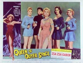 Queen of Outer Space - 11 x 14 Movie Poster - Style A