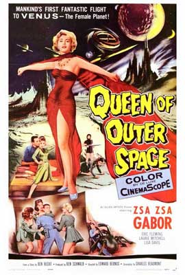 Queen of Outer Space - 27 x 40 Movie Poster - Style A