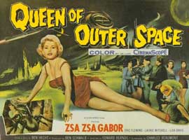 Queen of Outer Space - 11 x 14 Movie Poster - Style B