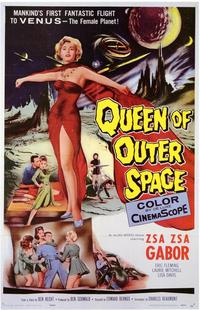 Queen of Outer Space - 43 x 62 Movie Poster - Bus Shelter Style A