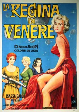 Queen of Outer Space - 11 x 17 Movie Poster - Italian Style A