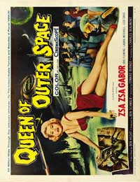 Queen of Outer Space - 30 x 40 Movie Poster - Style A