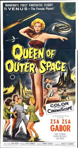 Queen of Outer Space - 11 x 17 Movie Poster - Style B