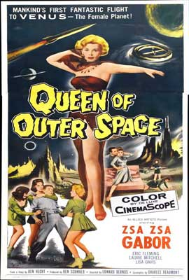 Queen of Outer Space - 27 x 40 Movie Poster - Style B