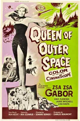 Queen of Outer Space - 11 x 17 Movie Poster - Style C