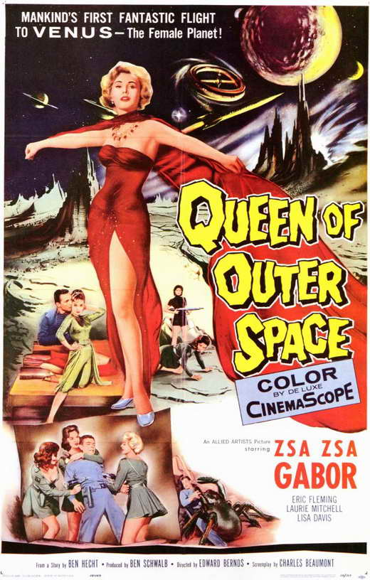 Queen of outer space movie posters from movie poster shop for Outer space movies
