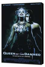 Queen of the Damned - 27 x 40 Movie Poster - Style A - Museum Wrapped Canvas