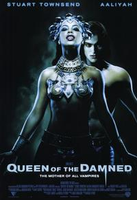 Queen of the Damned - 11 x 17 Movie Poster - Style A - Museum Wrapped Canvas