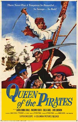 Queen of the Pirates - 11 x 17 Movie Poster - Style A