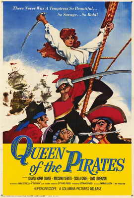 Queen of the Pirates - 27 x 40 Movie Poster - Style A