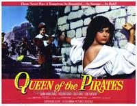 Queen of the Pirates - 22 x 28 Movie Poster - Half Sheet Style A