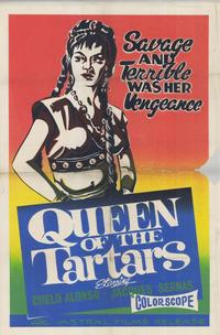 Queen of the Tartars - 11 x 17 Movie Poster - Style A