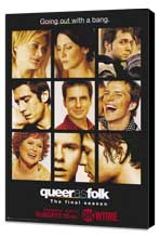 Queer As Folk - 27 x 40 TV Poster - Style D - Museum Wrapped Canvas