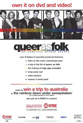 Queer As Folk - 11 x 17 TV Poster - Style A