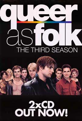 Queer As Folk - 11 x 17 TV Poster - Style C