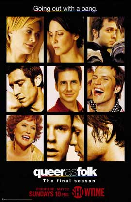 Queer As Folk - 11 x 17 TV Poster - Style D