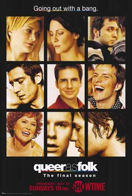 Queer As Folk - 27 x 40 TV Poster - Style D