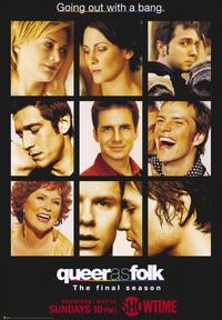 Queer As Folk - 43 x 62 Movie Poster - Bus Shelter Style A