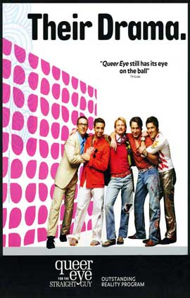 Queer Eye for the Straight Guy - 11 x 17 TV Poster - Style A