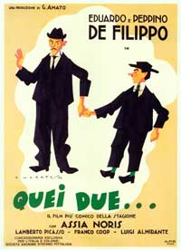 Quei due - 27 x 40 Movie Poster - Italian Style A