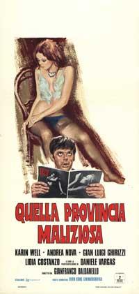 Quella provincia maliziosa - 13 x 28 Movie Poster - Italian Style A