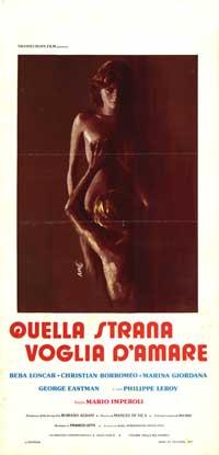 Quella strana voglia d'amore - 13 x 28 Movie Poster - Italian Style A