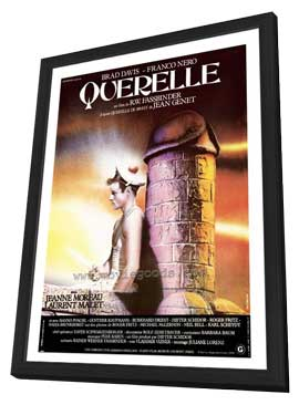 Querelle - 27 x 40 Movie Poster - Style A - in Deluxe Wood Frame