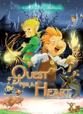 Quest for a Heart - 11 x 17 Movie Poster - Style A