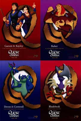 Quest for Camelot - 11 x 17 Movie Poster - Style B