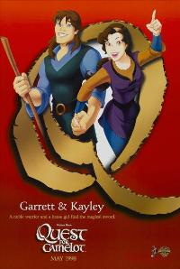 Quest for Camelot - 27 x 40 Movie Poster - Style C