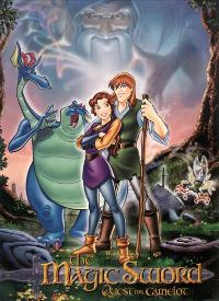 Quest for Camelot - 27 x 40 Movie Poster - Style E
