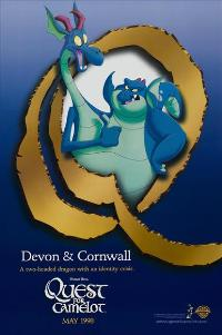 Quest for Camelot - 27 x 40 Movie Poster - Style F