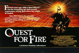 Quest for Fire - 27 x 40 Movie Poster - Style B