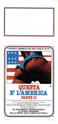 Questa e l America Part 2 - 13 x 28 Movie Poster - Italian Style A