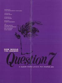 Question 7 - 11 x 17 Movie Poster - Style A