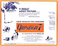 Question 7 - 11 x 14 Movie Poster - Style A