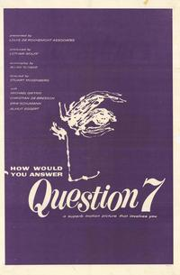 Question 7 - 11 x 17 Movie Poster - Style C