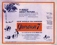 Question 7 - 22 x 28 Movie Poster - Half Sheet Style B