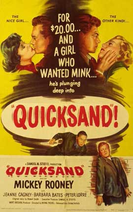 Quicksand - 11 x 17 Movie Poster - Style A