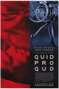 Quid Pro Quo - 11 x 17 Movie Poster - Style A
