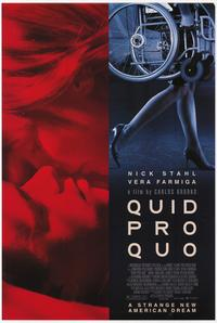 Quid Pro Quo - 43 x 62 Movie Poster - Bus Shelter Style A