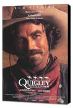 Quigley Down Under - 11 x 17 Movie Poster - Style A - Museum Wrapped Canvas