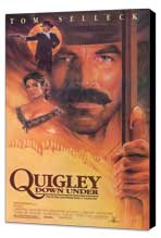 Quigley Down Under - 11 x 17 Movie Poster - Style B - Museum Wrapped Canvas